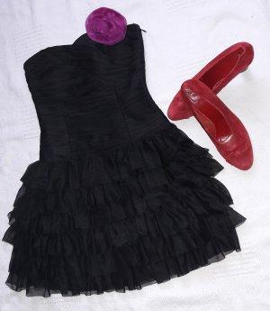 Volant-kleid, Bustier-kleid Ball Party Abikleid Matura  Babydoll  Gothic Lolita
