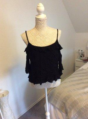 FB Sister Cowl-Neck Shirt black-apricot