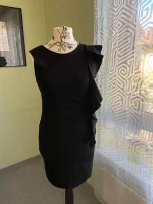 Flounce Dress black