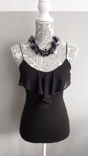 H&M Vestido de cuero negro