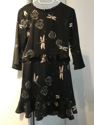 Zara Flounce Dress multicolored