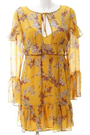 Flounce Dress flower pattern romantic style