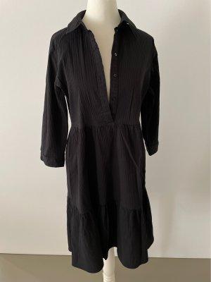 Only Sukienka z falbanami czarny Bawełna