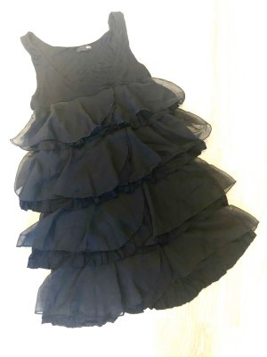 H&M Robe à volants noir