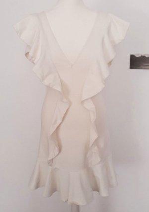 H&M Studio Sukienka z falbanami Wielokolorowy Bawełna