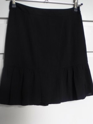 Esprit Spódnica z falbanami czarny