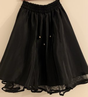 Taffeta Skirt black