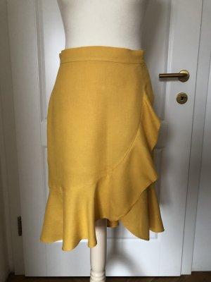 Mango Flounce Skirt yellow
