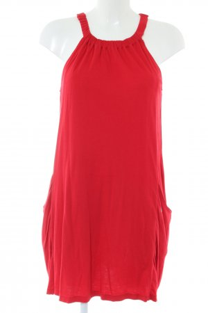 Volcom A-Linien Kleid rot Elegant