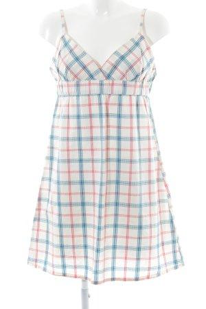 Volcom A-Linien Kleid Karomuster Casual-Look