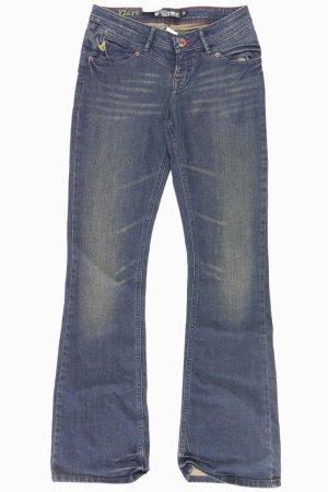 Volcom Jeans bootcut bleu-bleu fluo-bleu foncé-bleu azur