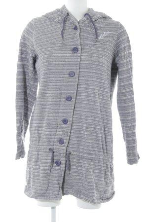 Volcom Cardigan gris lilas-blanc cassé motif rayé style décontracté