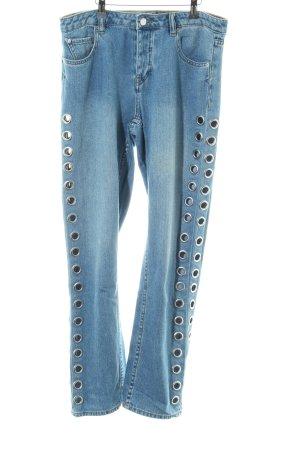Volcom High Waist Jeans graublau Casual-Look