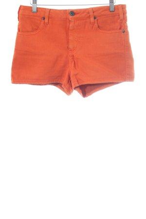 Volcom Pantaloncino a vita alta arancione scuro stile casual