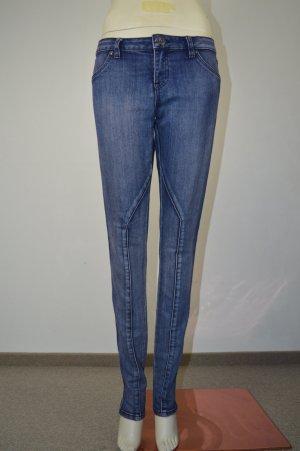 Volcom Jeans skinny bleu coton