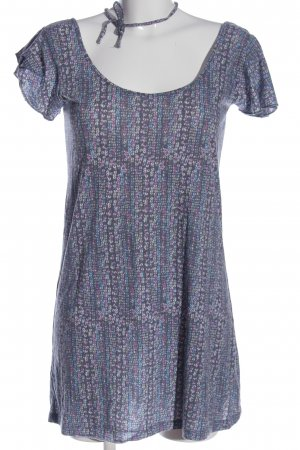 Volcom Long Blouse mixed pattern casual look