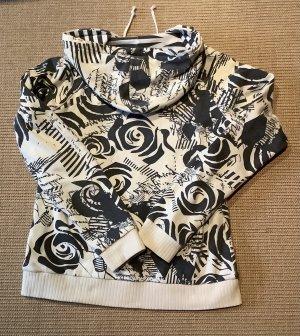 Volcom Reversible Jacket black-natural white cotton