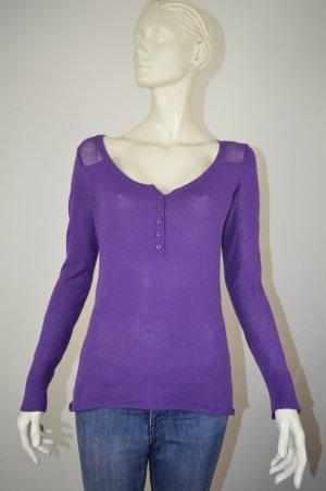 Volcom Pull tricoté violet foncé coton