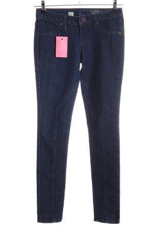Volcom Jeans cigarette bleu style décontracté