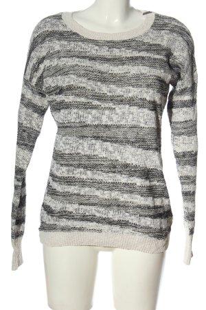 Volcom Maglione girocollo nero-bianco puntinato stile casual