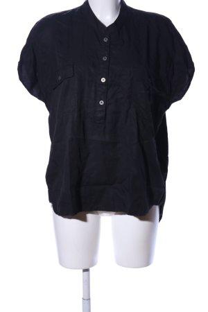 Volcom Schlupf-Bluse schwarz Casual-Look