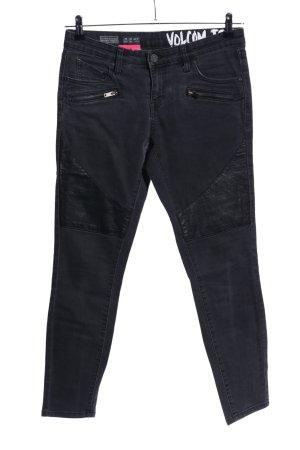 Volcom Jeans skinny noir style décontracté