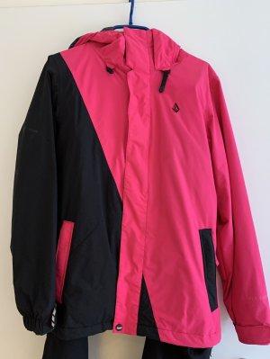 Volcom Veste d'hiver noir-rose