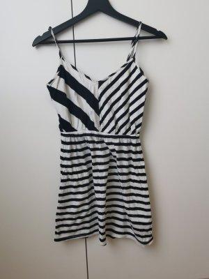 Volcom Robe d'été blanc-noir
