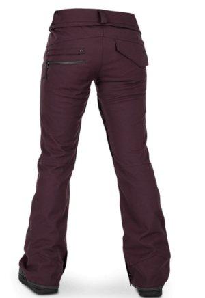 Volcom Pantalon de ski bordeau
