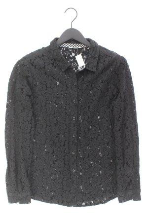 Volcom Spitzenbluse Größe M Langarm schwarz aus Baumwolle
