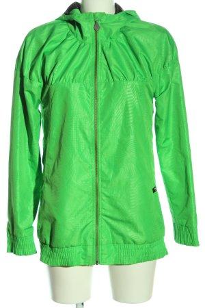 Volcom Sportjacke grün Casual-Look