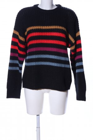 Volcom Strickpullover Streifenmuster Casual-Look