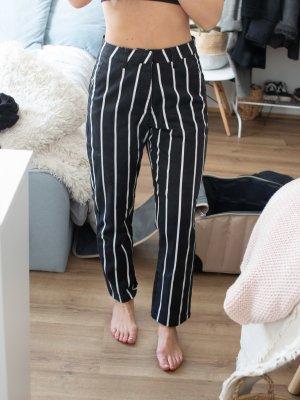 Volcom Hoge taille broek zwart-wit