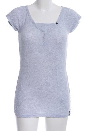 Volcom T-Shirt hellgrau meliert Casual-Look
