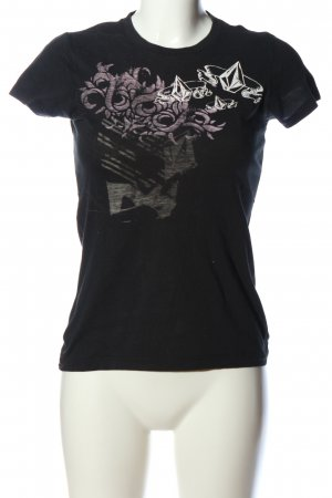 Volcom T-shirt imprimé avec thème style décontracté