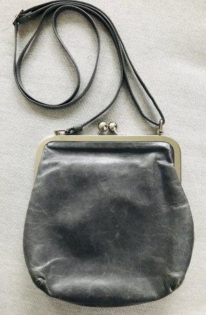 Volker Lang Sac bandoulière gris cuir