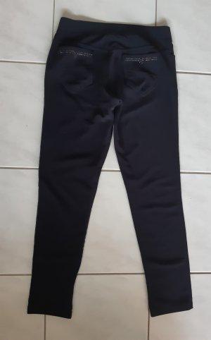Pantalón elástico azul oscuro