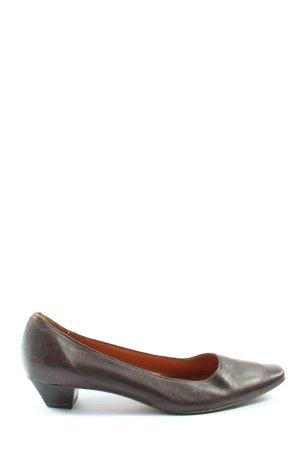 Voltan Buty wciągane brązowy W stylu casual