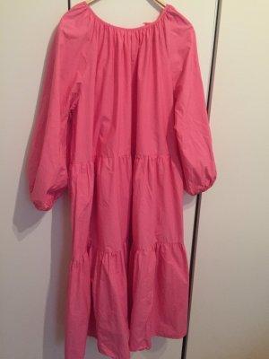 Voluminöses Kleid pink Gr L / 42/44