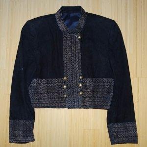 Giacca tradizionale blu scuro-grigio