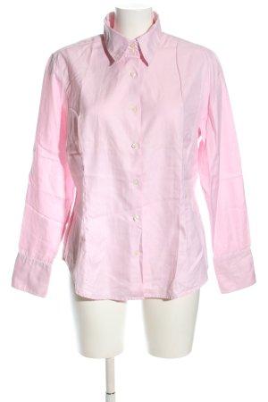 VON DANIELS Langarmhemd pink Business-Look