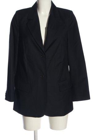 VON DANIELS Long-Blazer blau Business-Look