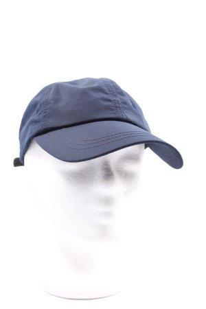 VON LAMEZAN Baseballówka niebieski Nadruk z motywem W stylu casual