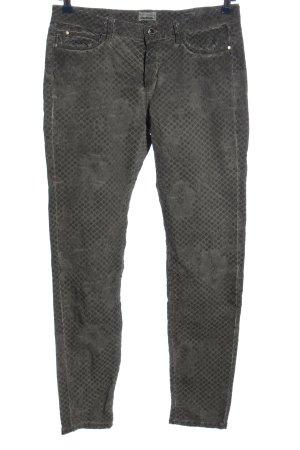 von zeiten Spodnie rurki jasnoszary W stylu casual