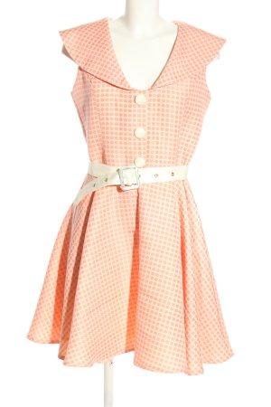Voodoo Vixen Petticoat Dress cream polyester