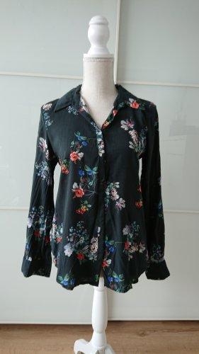 Vorteilhafte Bluse mit floralem Muster