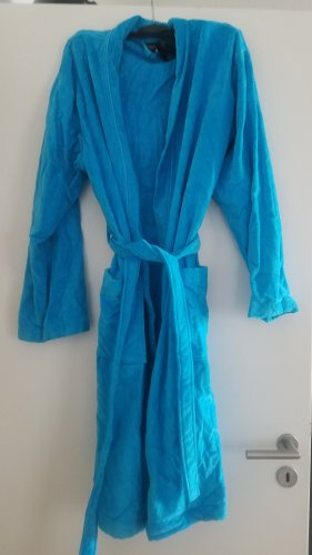 Vossen Peignoirs de bain bleu clair-turquoise coton