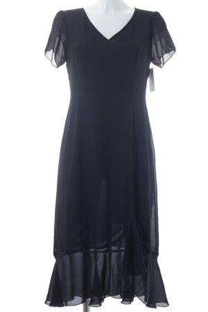 Votre Mode Abendkleid schwarz Casual-Look