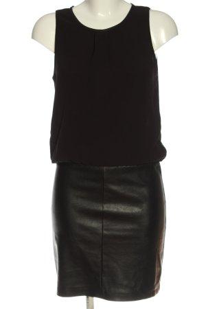 Voyelles Mini vestido negro elegante