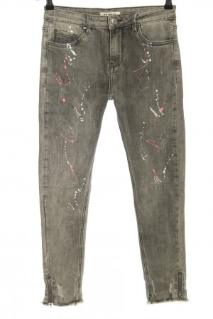 Vs. miss Stretch Jeans light grey casual look